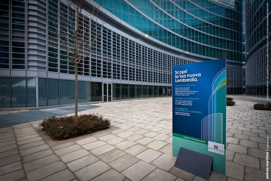 La nuova sede Regione Lombardia